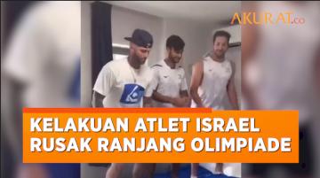 Norak! Kelakuan Atlet Israel Rusak Ranjang di Kampung Atlet Olimpiade