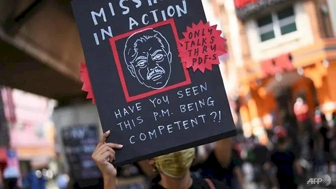 Dilanda Demonstrasi Massa, Pemerintah Malaysia Dinilai Tak Becus Tangani Krisis COVID-19 - Foto 1
