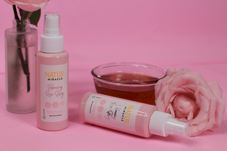 Muncul Maskne Natur Miracle Balancing Rose Spray Bisa Jadi Solusi - Foto 1