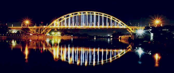 Taman Alam Mayang dan Jembatan Leighton, Dua Spot Wisata Paling Populer di pekanbaru - Foto 2