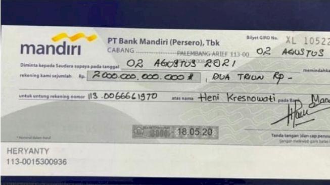 Se-Indonesia Kena Prank PPATK Pastikan Donasi Rp2 Triliun Keluarga Akidi Tio Palsu - Foto 1
