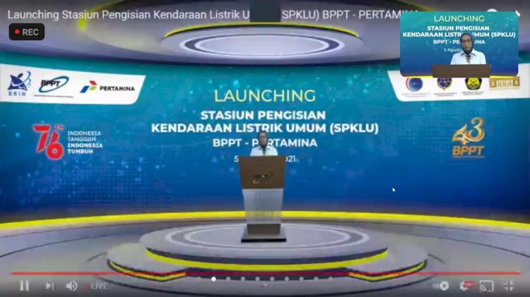 BPPT Bangun Stasiun Kendaraan Listrik di SPBU Lenteng Agung dan MT - Foto 1