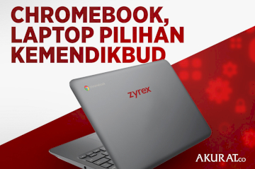 Chromebook, Laptop Pilihan Kemendikbud