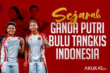 Sejarah Ganda Putri Bulu Tangkis Indonesia