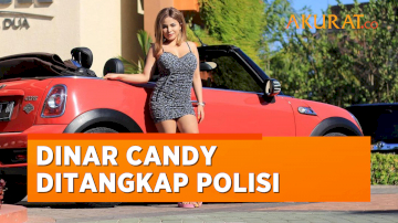 Buntut Berbikini di Jalan, Dinar Candy Ditangkap Polisi