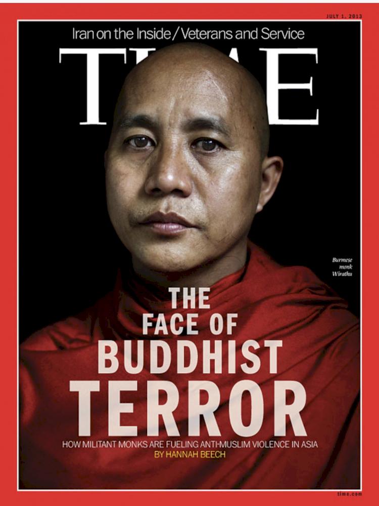 Biksu Myanmar Pembenci Islam Dibebaskan dari Kasus Hukum, Ini Rekam Jejaknya - Foto 1