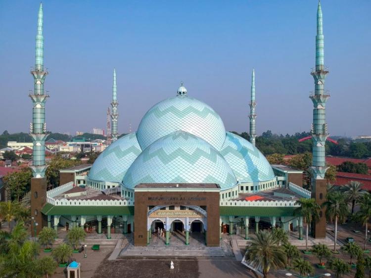 Berkunjung Yuk ke Masjid-masjid Indah dan Unik di Provinsi Banten - Foto 3