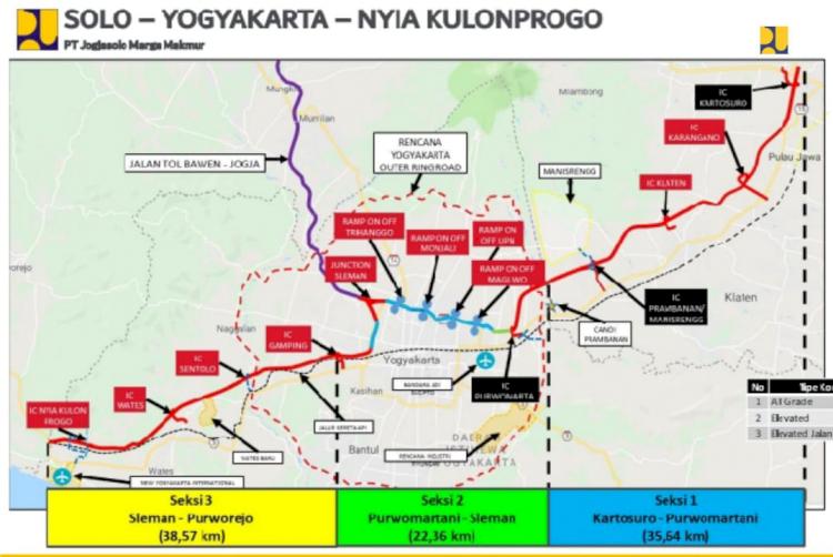 Mulai Konstruksi, Tol Solo-Yogyakarta-NYIA Punya 9 Simpang Susun - Foto 1