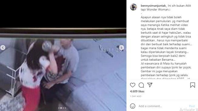 Diduga Serang Jonathan Frizzy Pakai Barbel, Dhena Devanka : Aku Bukan Atlet - Foto 1