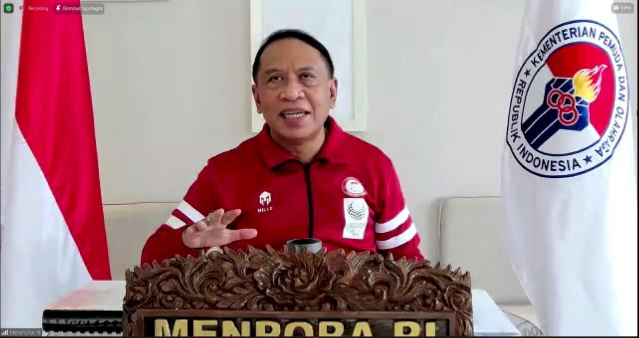 Menpora: Dari Awal Ditunjuk Jokowi, Saya Diminta untuk Setarakan Atlet