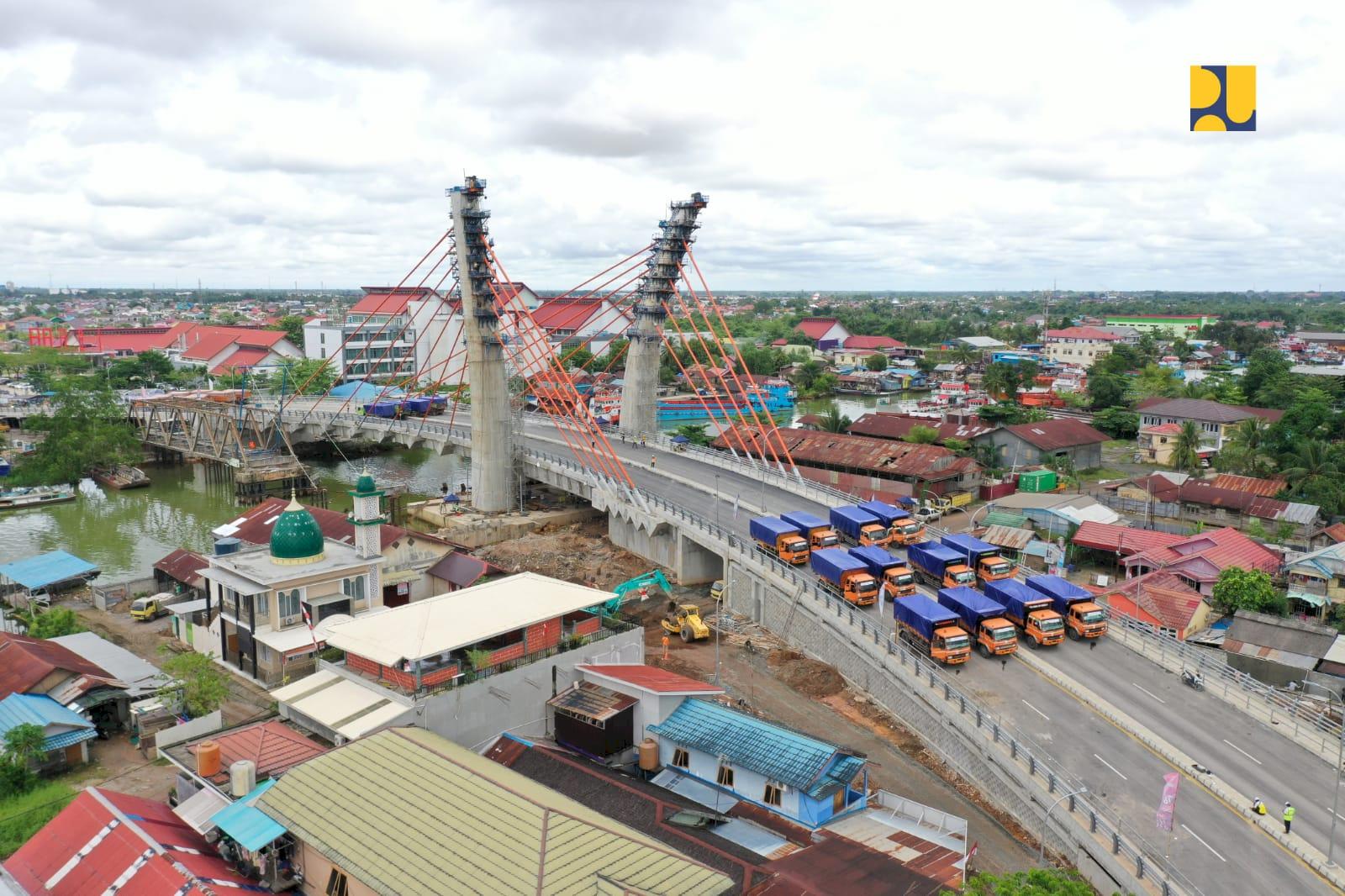 Kementerian PUPR Siap Lakukan Uji Coba Jembatan Sei Alalak