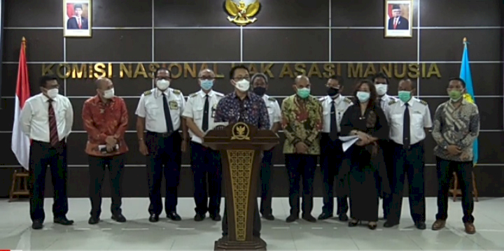Mengadu ke  Komnas HAM, Eks Karyawan Merpati Minta Jokowi Penuhi Hak