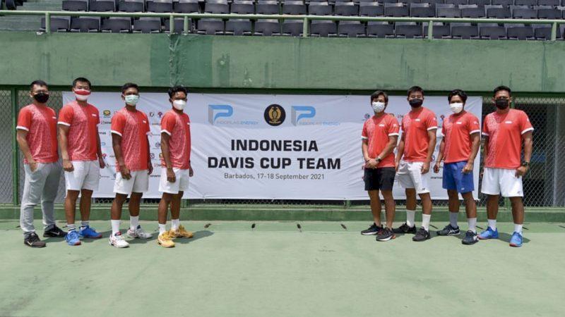 Tim Piala Davis Indonesia Siap Tanding Lawan Petenis Andalan Barbados