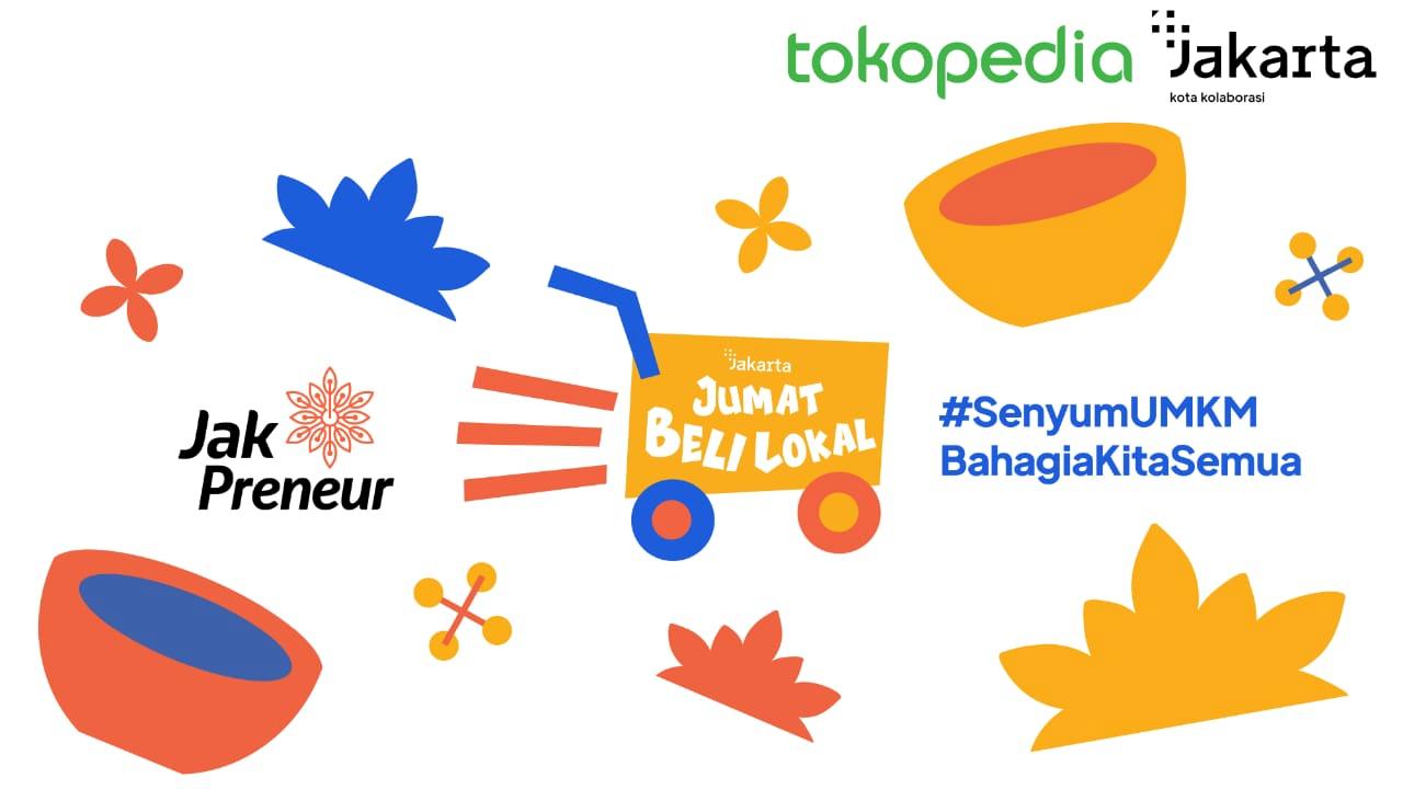 Pemprov DKI dan Tokopedia Luncurkan 'Jumat Beli Lokal' Dorong Pemasaran Produk UMKM Jakarta