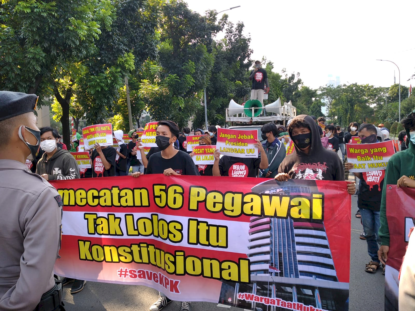 Koalisi Rakyat Dukung KPK Berhentikan Pegawai yang Tak Lulus TWK