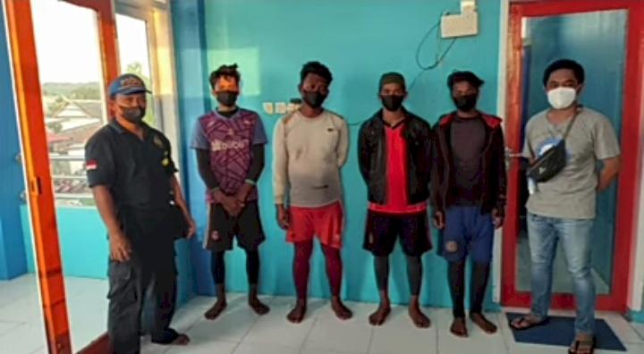 4 Nelayan Pengebom Ikan di Selayar Diringkus Petugas PSDKP KKP