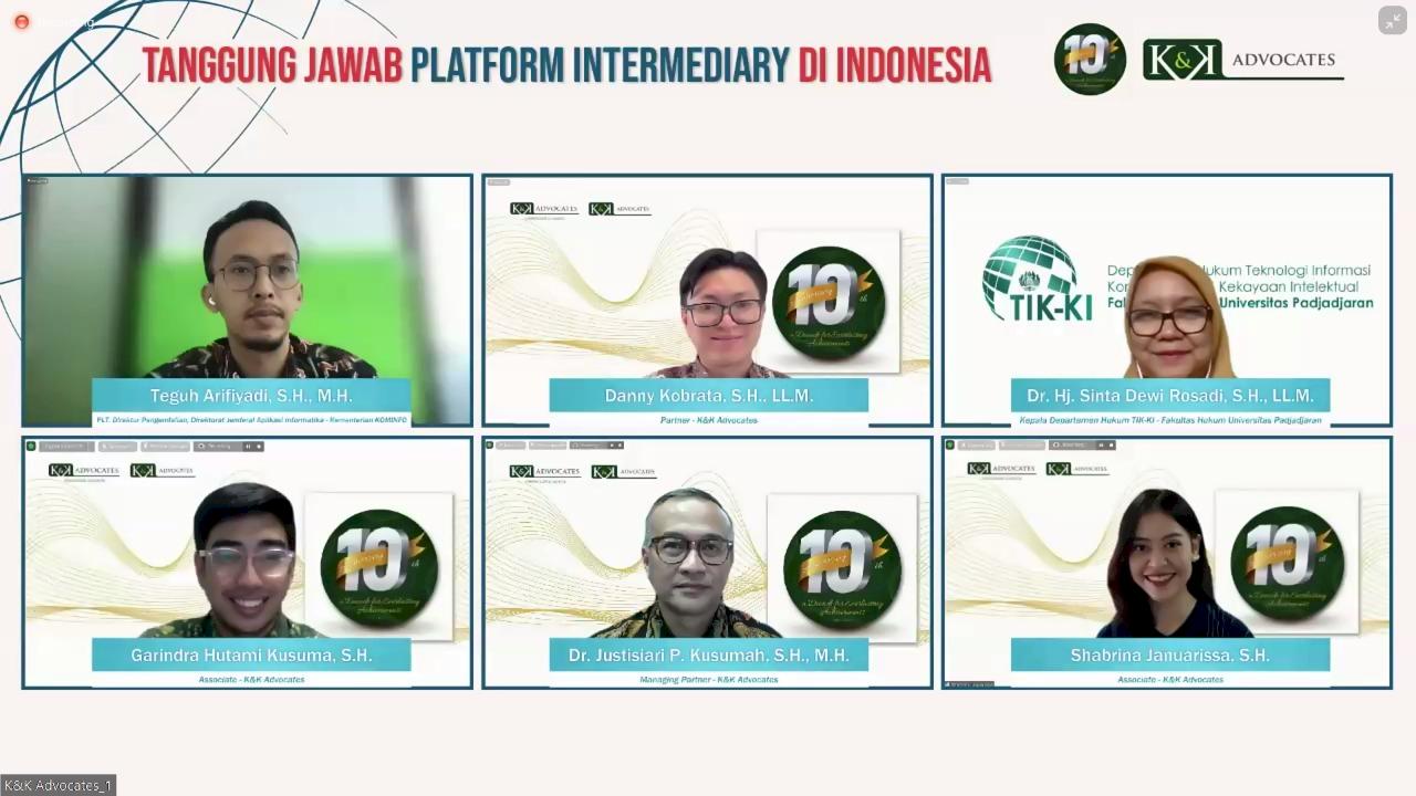 Yuk Cari Tahu! Peta Tanggung Jawab Platform Intermediary di Indonesia
