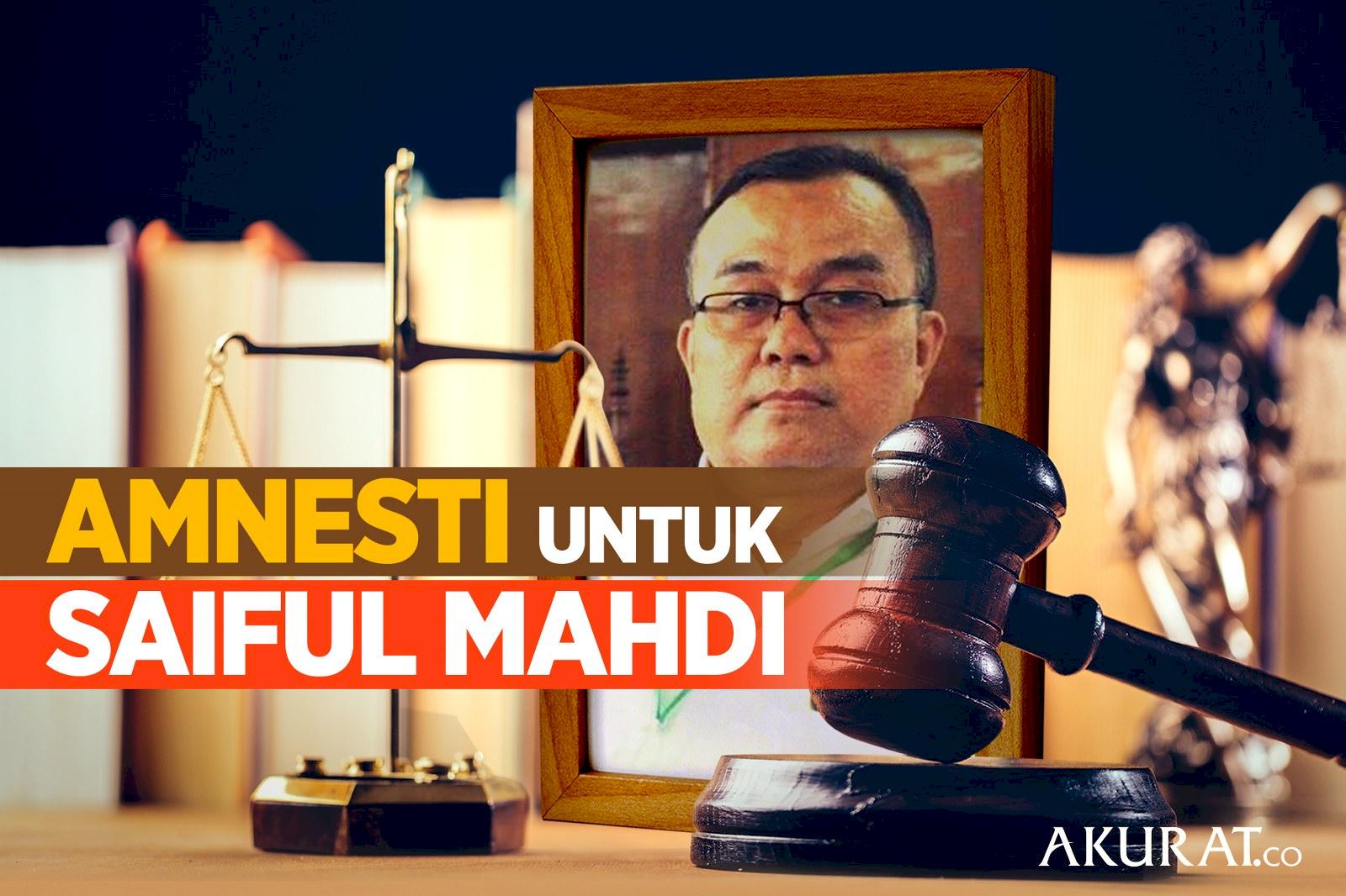Amnesti untuk Saiful Mahdi