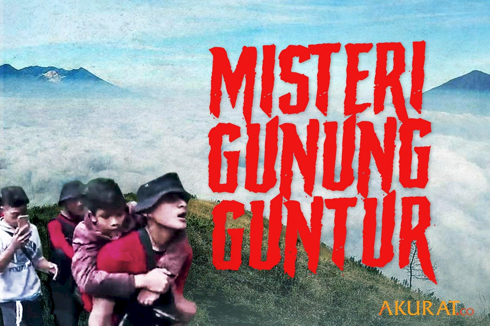 Misteri Gunung Guntur