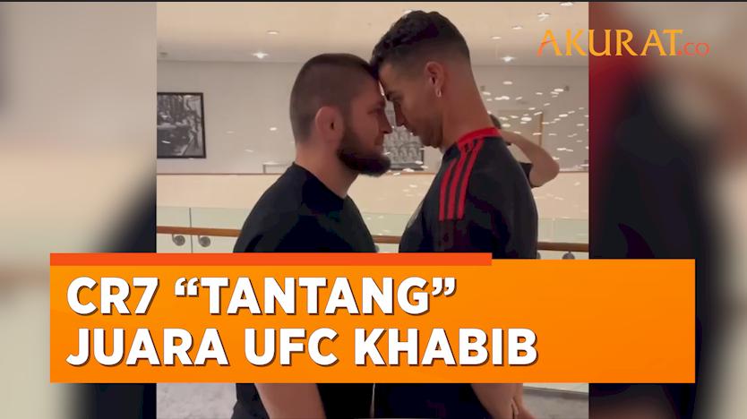 "Ketika Cristiano Ronaldo ""Menantang"" Juara UFC Khabib Nurmagomedov"