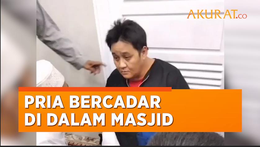 Pria di Jambi Kepergok Nyamar Jadi Wanita Bercadar di Dalam Masjid