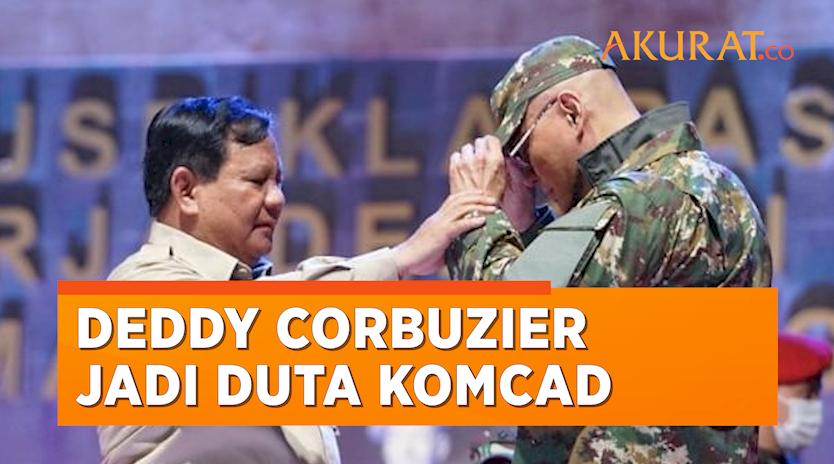 Menhan Prabowo Tunjuk Deddy Corbuzier Jadi Duta Komponen Cadangan