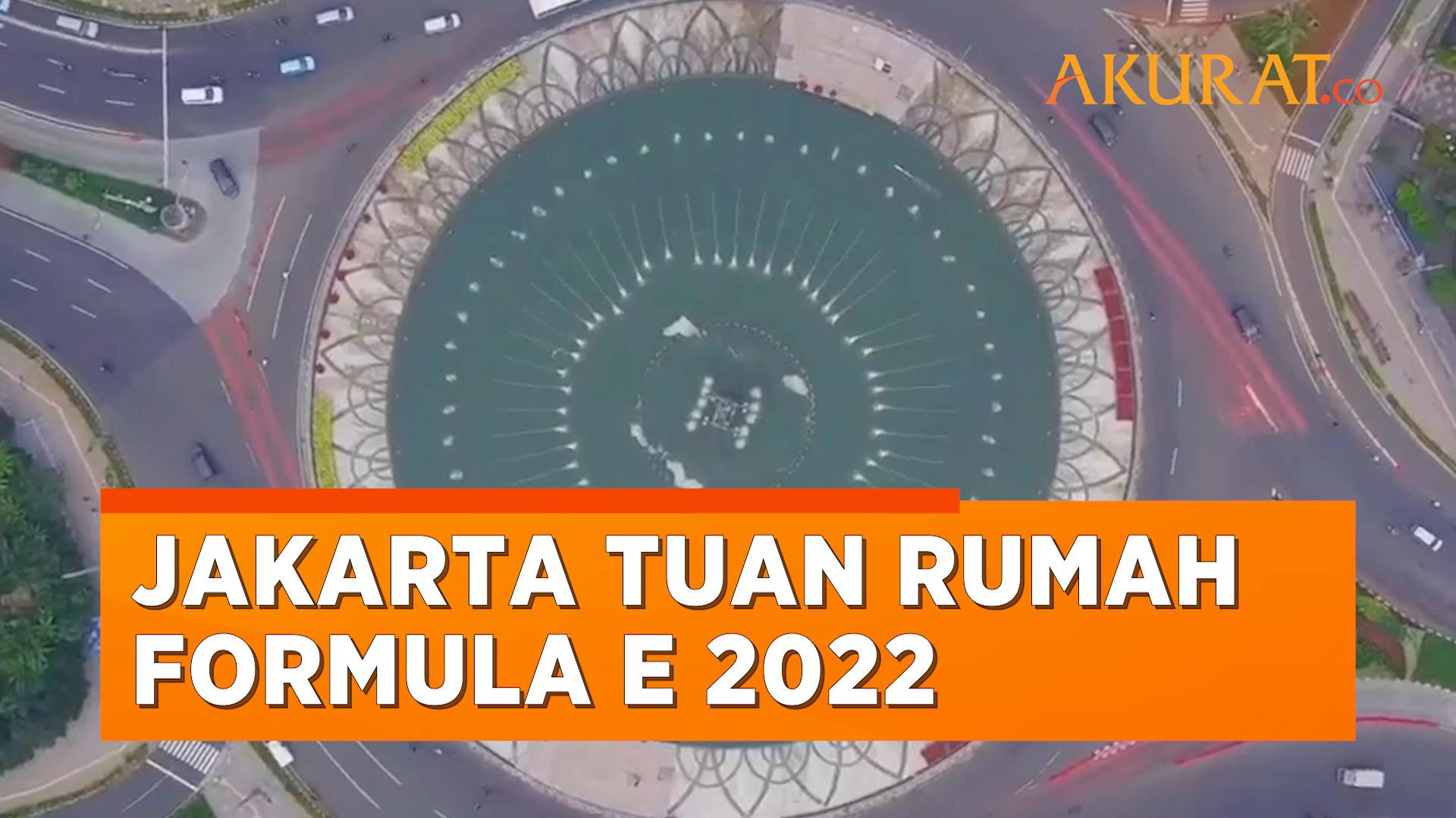 DKI Jakarta Resmi Jadi Tuan Rumah Formula E 2022