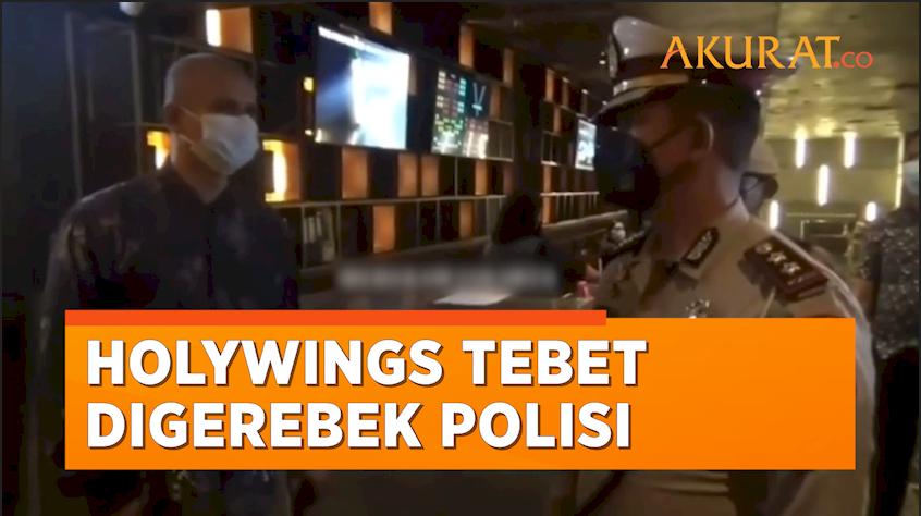 Lagi! Holywings Tebet Digerebek Polisi karena Langgar Aturan PPKM