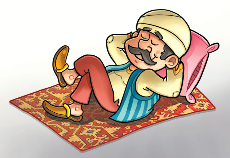 Ngakak! Cuma Abu Nawas yang Bisa Bayar Makanan dengan Bunyi Koin, Begini Caranya