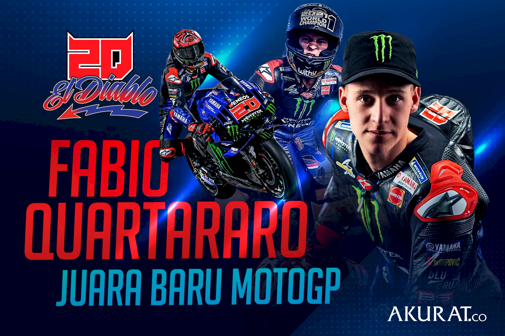 Fabio Quartararo Juara Baru MotoGP